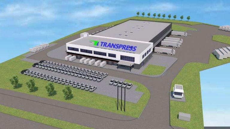 Транспортната компания Transpress инвестира 10 млн. лева в нова логистична база край София