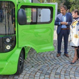 Днес беше представен първият бълграски електрически товарен автомобил